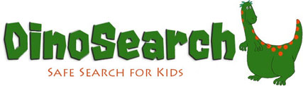 Dinosearch Kids Safe Search